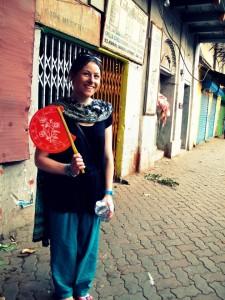 Claire Glavey in Kolkata