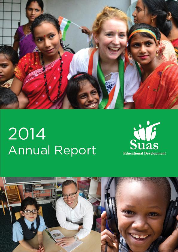 2014 Annual Report, Suas Educational Development