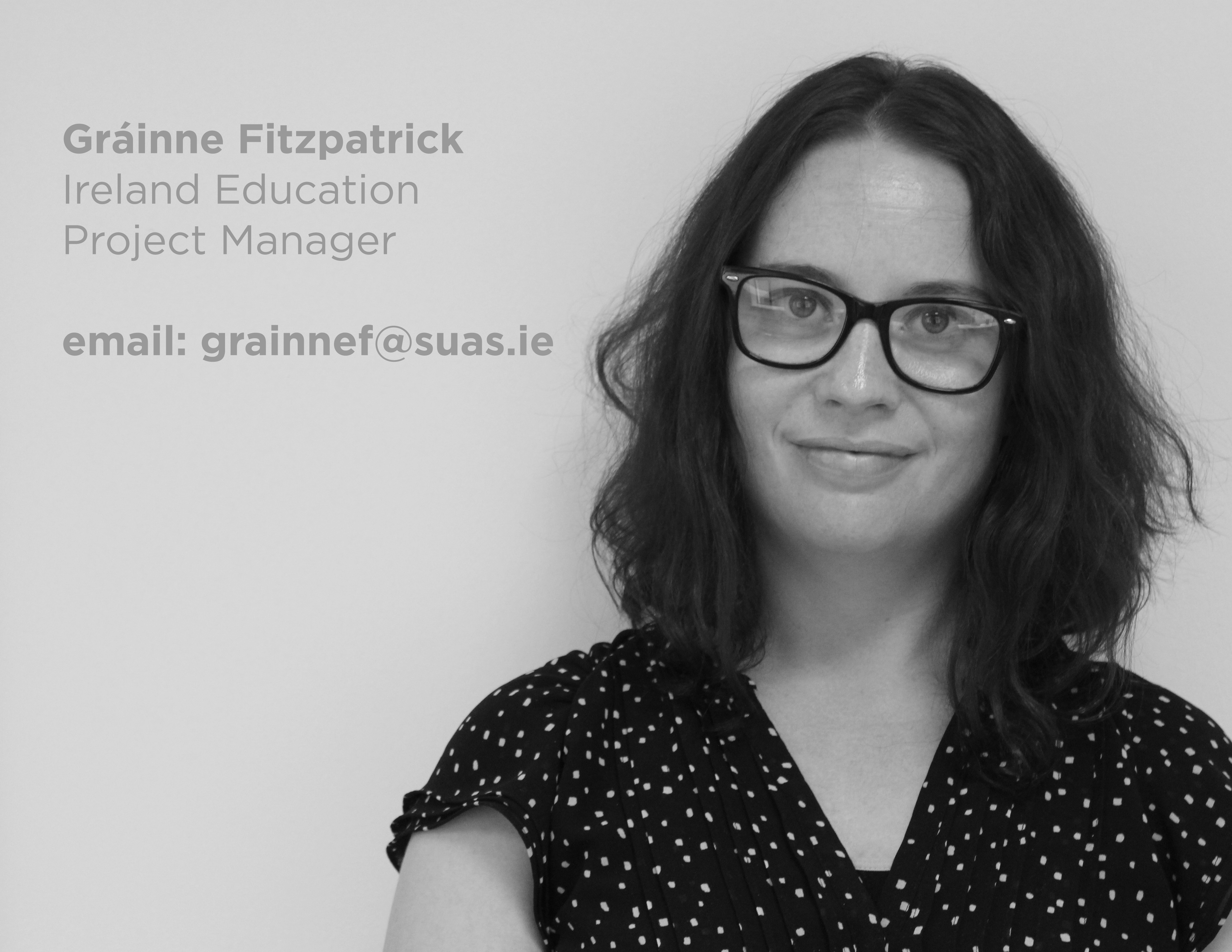 Gráinne Fitzpatrick, Suas Educational Development, Ireland Education Project Manager