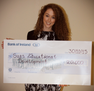 Helina from our Literacy Support Programme with awarded €20,000!