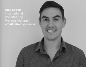 Alex Brock, Suas Educational Development, Volunteer Programme Project Manager