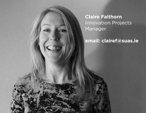 Claire Faithorn Innovation Projects Manager, Suas Educational Development