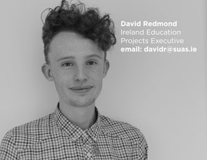 David Redmond Ireland Education Project Support, Suas Educational Development