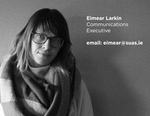 Eimear Larkin, Suas Educational Development Communications Executive