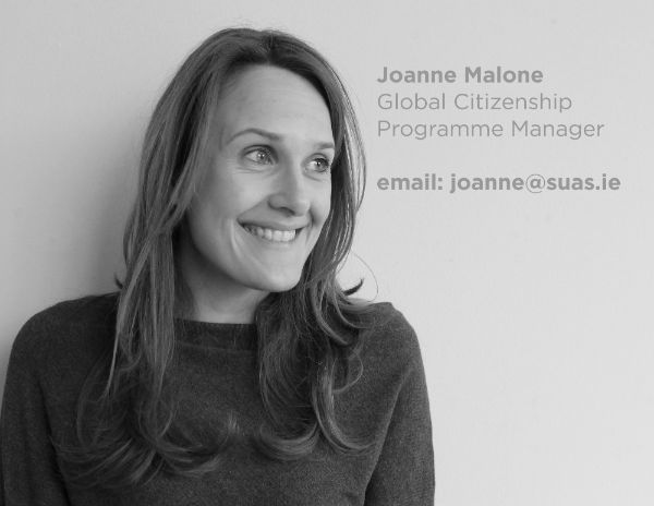 Joanne Malone, Suas Educational Development, Global Citizenship  Programme Manager