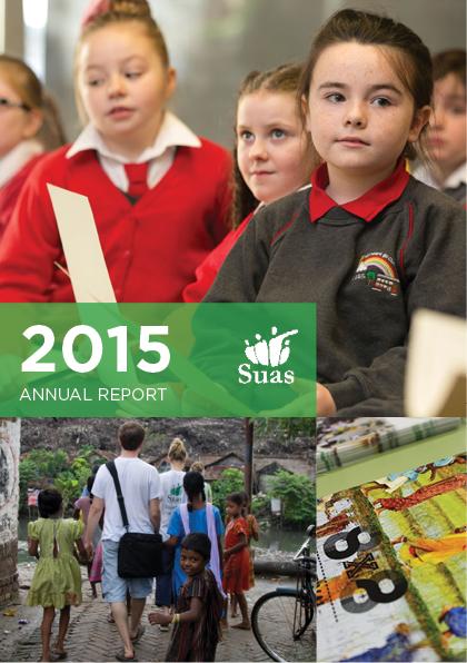 2015 Annual Report, Suas Educational Development