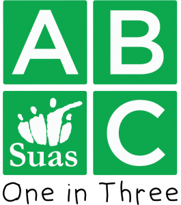 ABC One in Three Campaign Logo