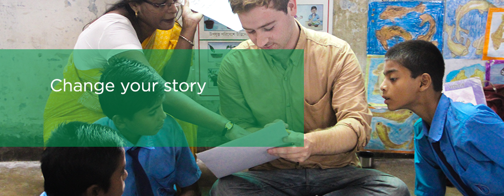 Suas Volunteer Programme, change your story