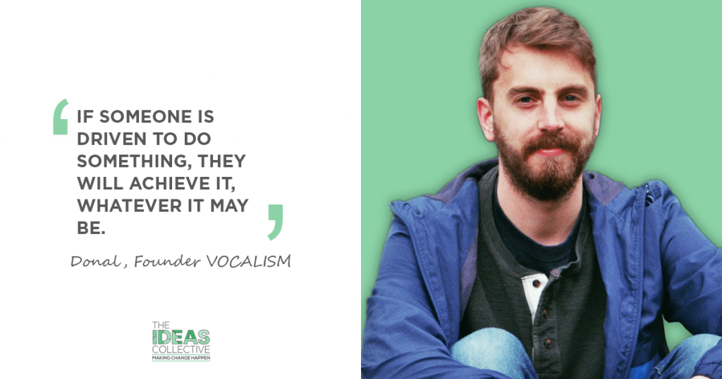 Dónal Kearny, VOCALISM, The Ideas Collective, Suas Educational Development