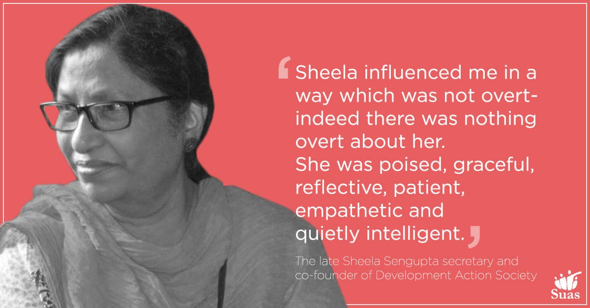 Laura Cullen: Remembering Sheela Sengupta